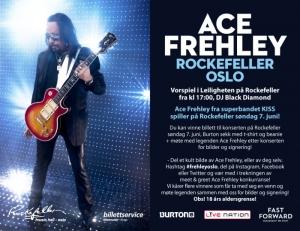 Møte Kiss-legenden Ace Frehley