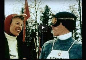 Kortfilm om skisporten i Oslo fra 1958.