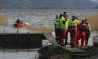 Full alarm i Steinsfjorden