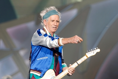 Keith Richards så godt som tørrlagt