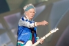 Keith Richards på scenen under en konsert i Telenor Arena i Bærum i 2014.
