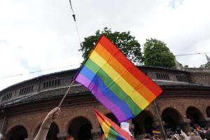 Pride-flagg rives ned i Oslo