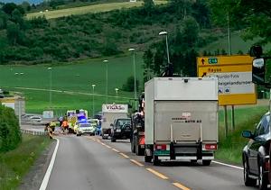 Trafikkulykke ved Botilrud