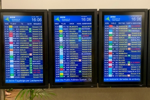 Tre Norwegian-fly fra Gran Canaria har landet