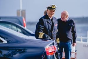 Kong Harald er innlagt på Rikshospitalet – kronprinsen stepper inn