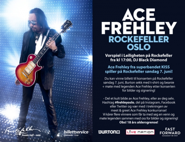 Møte Kiss-legenden Ace Frehley
