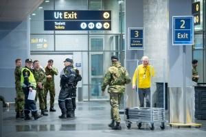 Vektere ble permittert da HV inntok Gardermoen