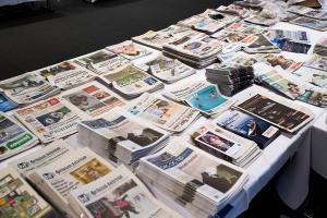 Svekket lønnsomhet for norske aviser