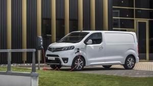Nye Toyota Proace Electric er klar