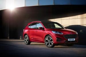 Nye Ford Kuga med toppscore i Euro NCAP