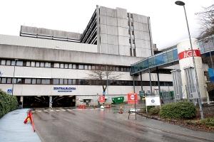 Eldre pasient med covid-19 døde på Haukeland