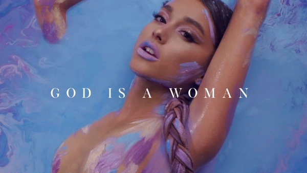 Ariana Grande ute med «God Is A Woman»