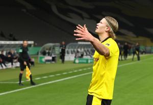 Haaland-dobbel da Dortmund vant den tyske cupen