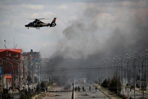 Tre drept da soldater brøt opp drivstoffblokade i Bolivia