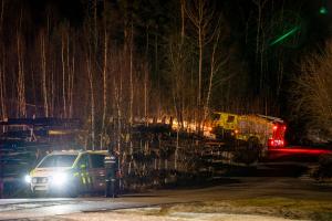 En person alvorlig skadd i eksplosjon i Øvre Eiker
