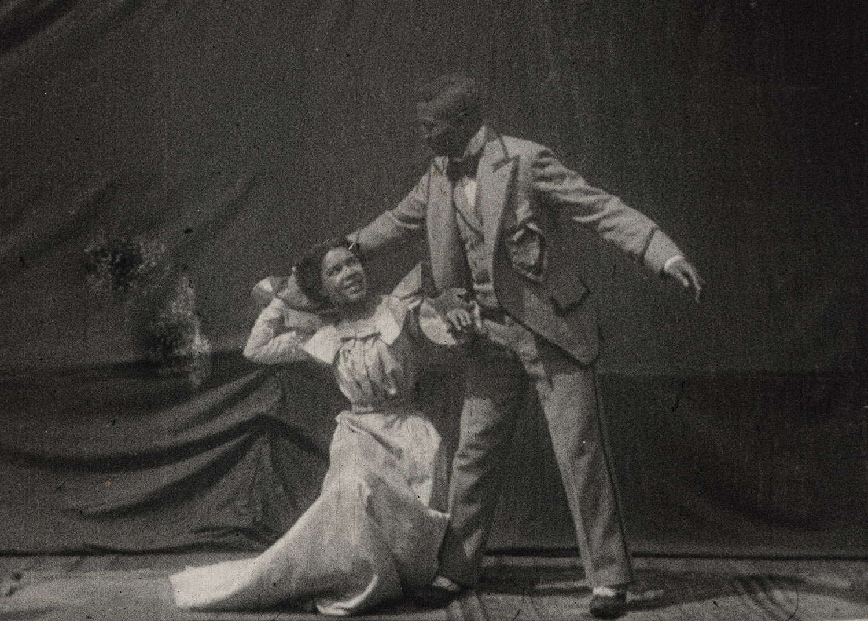 Verdens første afroamerikanske filmkyss er funnet i Nasjonalbiblioteket