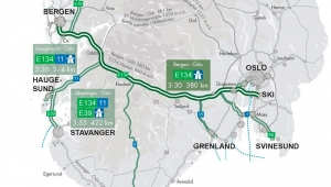Ny vei kan gi reisetid på fire timer mellom Oslo og Bergen