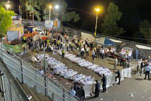 Over 40 mistet livet under jødisk feiring i Israel