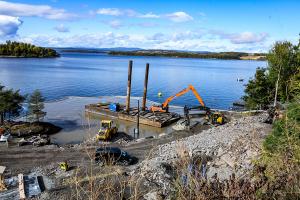 AUF kan fortsette byggingen ved Utøya