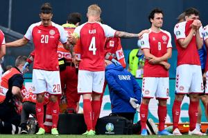 Eriksen segnet om under Danmarks EM-kamp: Hjerte- og lungeredning ute på banen