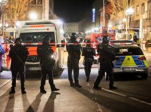 Skytemassakren i Tyskland etterforskes av terrorpoliti