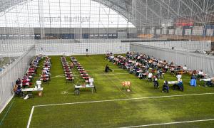 Muntlig eksamen for avgangselever i skolen går som vanlig